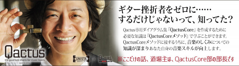 Qactus カクタス ギター 挫折 初心者