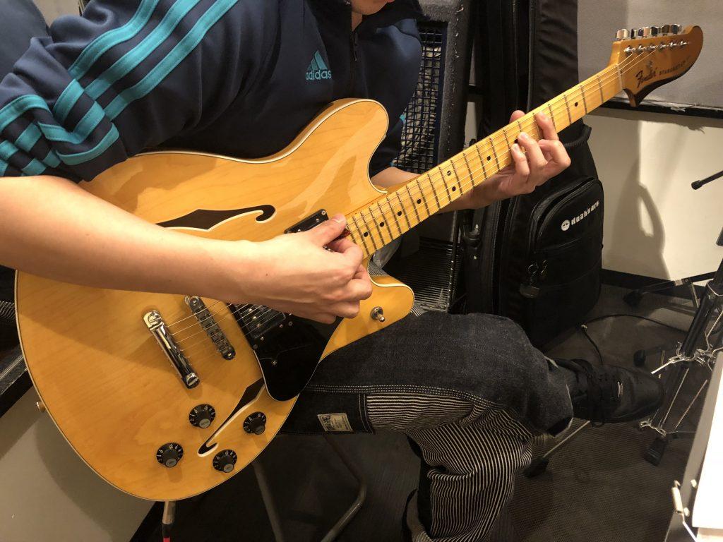 宇野振道場 Q-sai@楽器挫折者救済合宿 ギター エレキギター