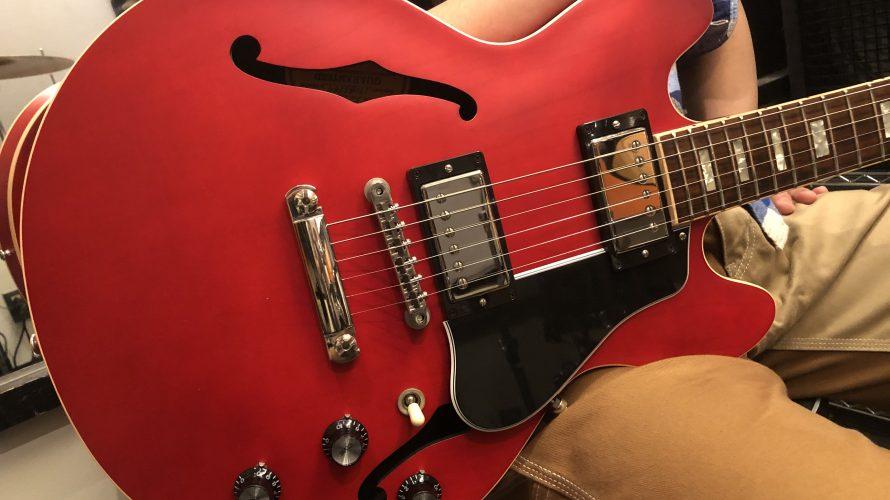 宇野振道場 Q-sai@楽器挫折者救済合宿 ギター教室 ギター ギブソン ES-339